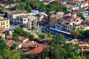 historical center athens