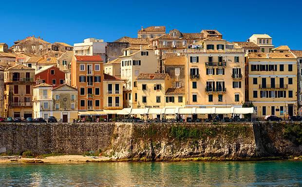 corfu venetian old town